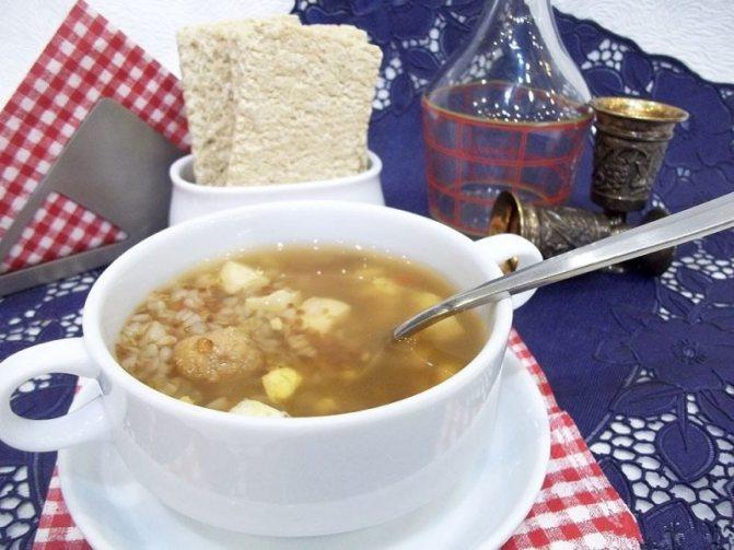 Гороховый суп для кормящих мам