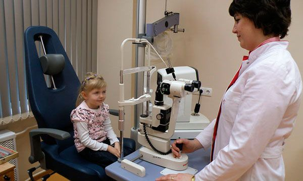 Близорукость у детей 1, 2, 3, 4, 5 лет и школьного возраста: лечение