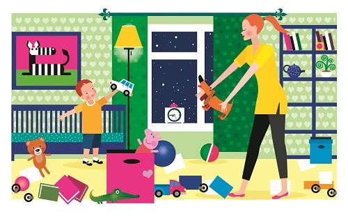 6 лайфхаков для быстрой уборки в детской комнате