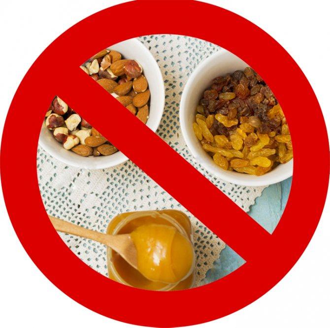 Какие продукты запрещены детям до года