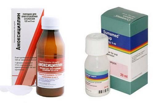 Антибиотики при ангине у детей : инструкция по применению | компетентно о здоровье на ilive