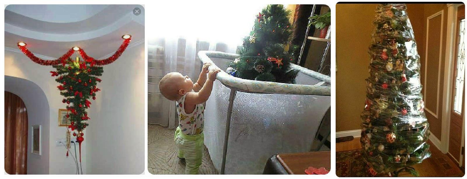 Eлка в доме, где есть маленький ребенок