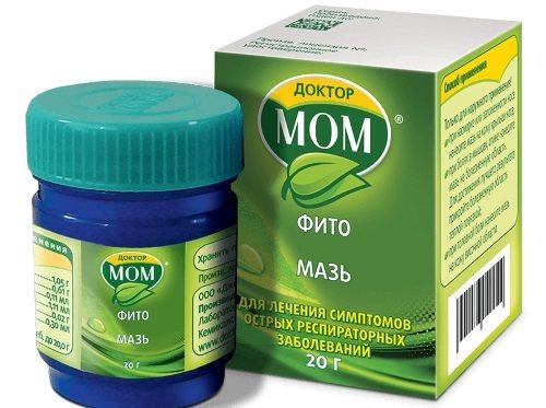 Мазь «доктор мом» для детей