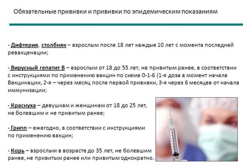 Температура у ребёнка после прививки