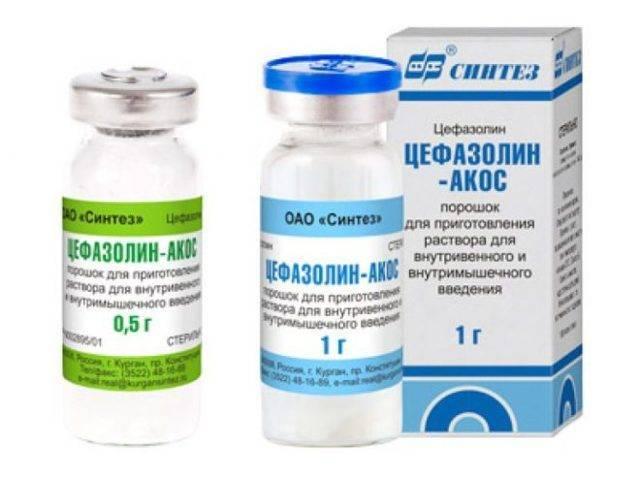 Антибиотик цефазолин детям - миндалина