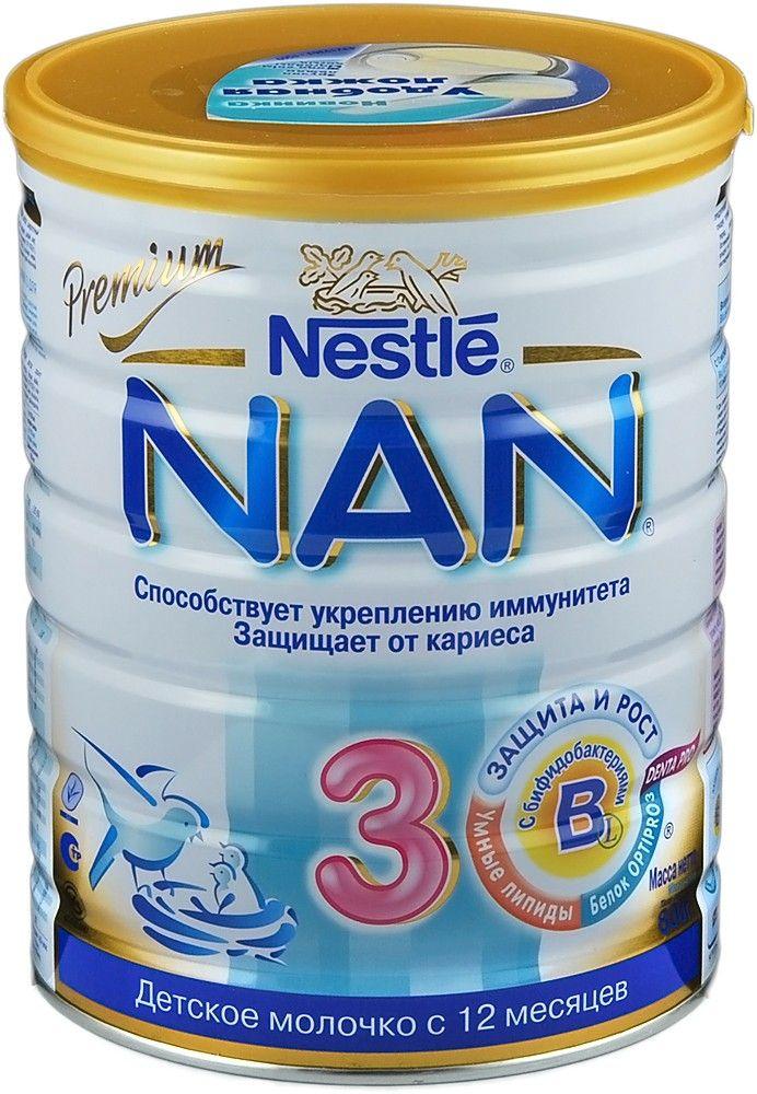 Детские сухие смеси nan (нан) - виды, как давать