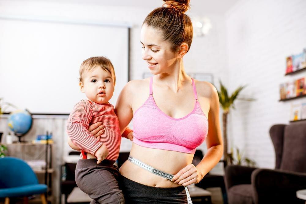 Похудение после родов: диета и комплекс упражнений для мам - allslim.ru