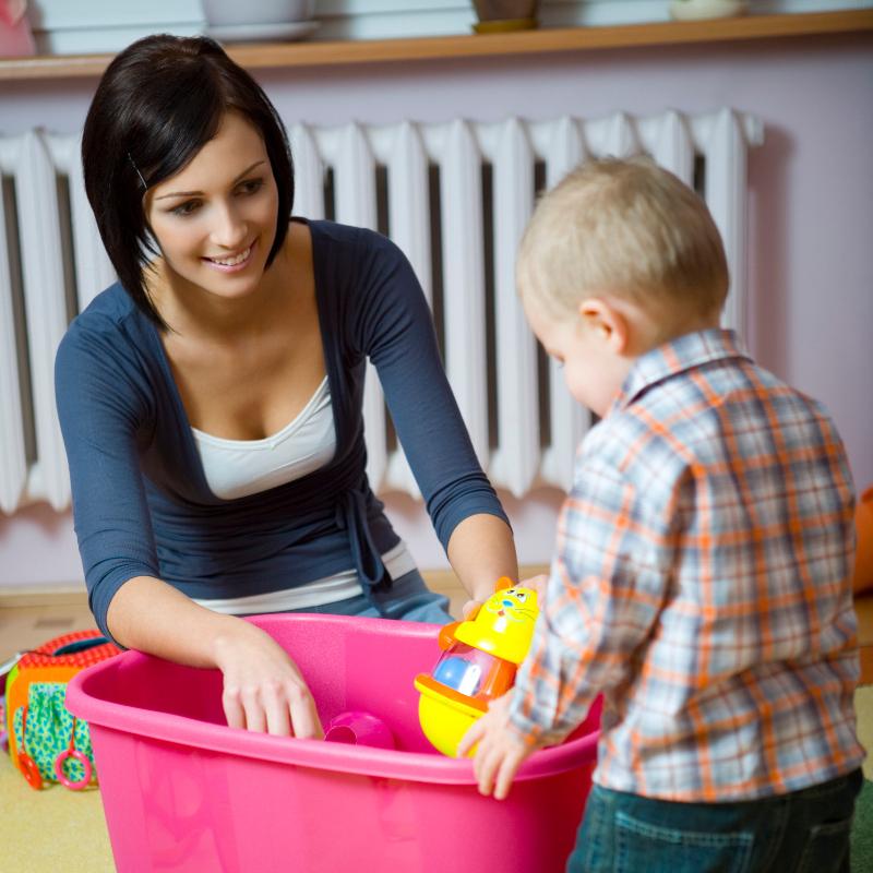 Ребенок и порядок. как приучить и подать правильный пример.