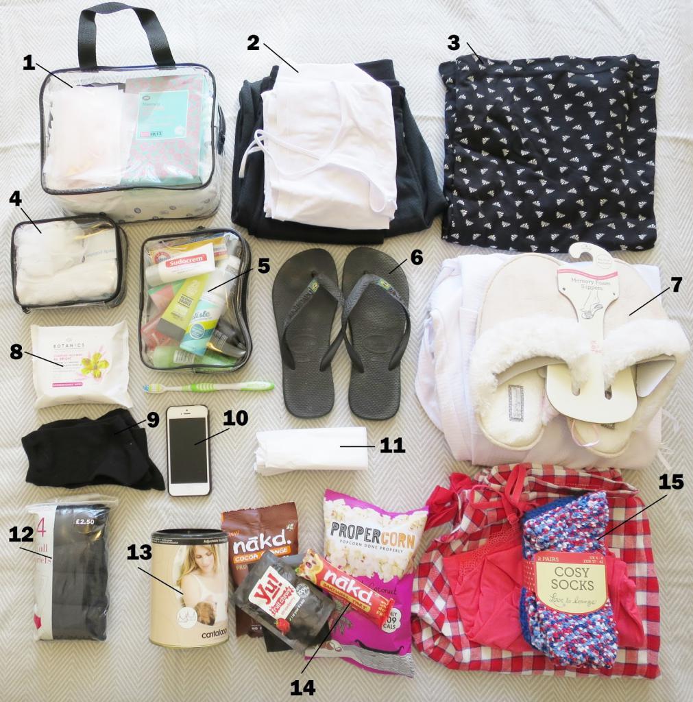 Вещи в дорогу с ребенком: список для новорожденного