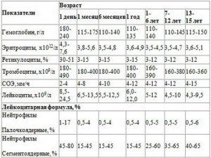 Лейкоцитарная формула крови — расшифровка у взрослых и детей, норма