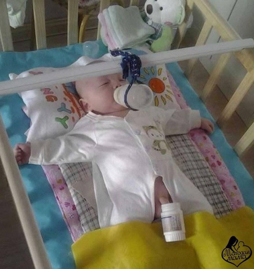 В больнице с грудничком