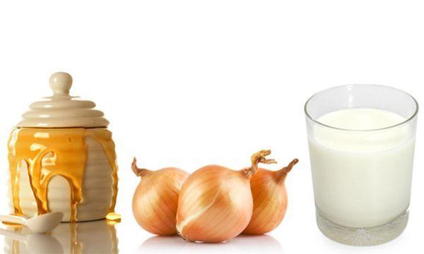 Лук с медом - рецепт натурального средства от кашля для детей