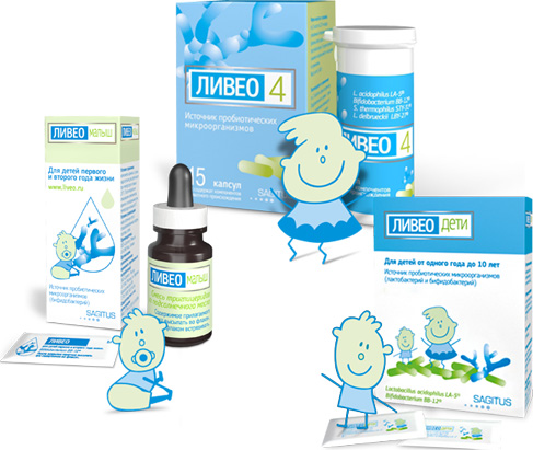 Пробиотики для детей: виды, применение, отзывы