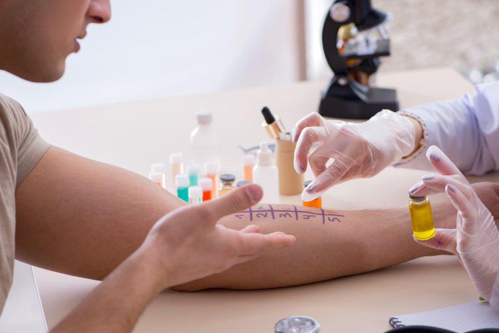 Аллергопробы: тест на аллергию - аллергии. астма