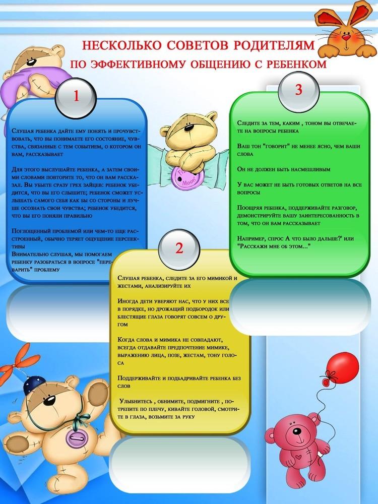 Советы психолога, как общаться с ребенком