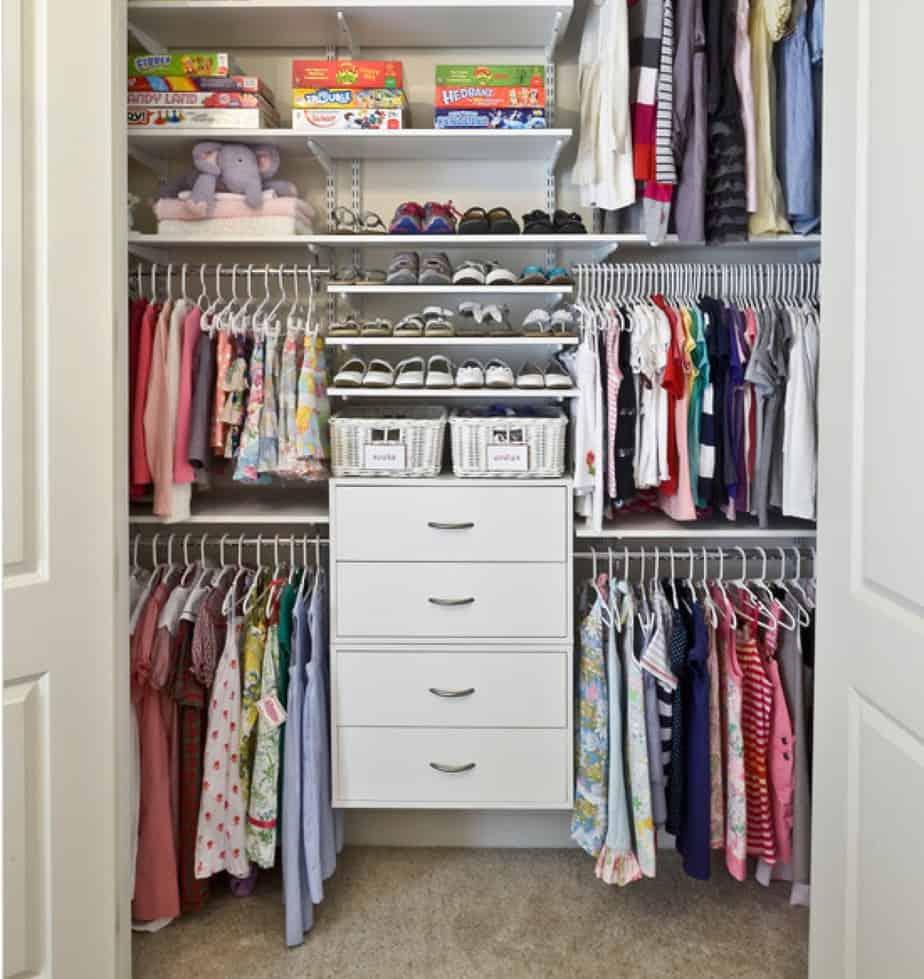 12 способов сохранить порядок в детской