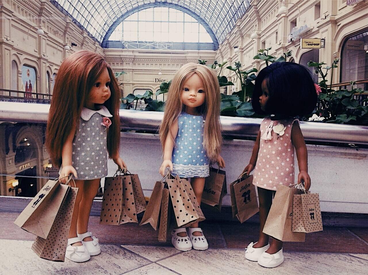 59 разных кукол в подарок девочкам от 3 до 15 лет