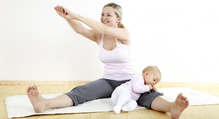 Спорт после родов: когда можно начинать заниматься? / mama66.ru