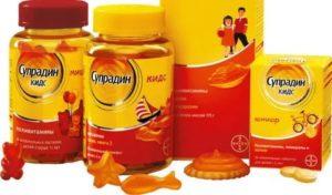 Витамины супрадин для детей: отзывы, супрадин кидс