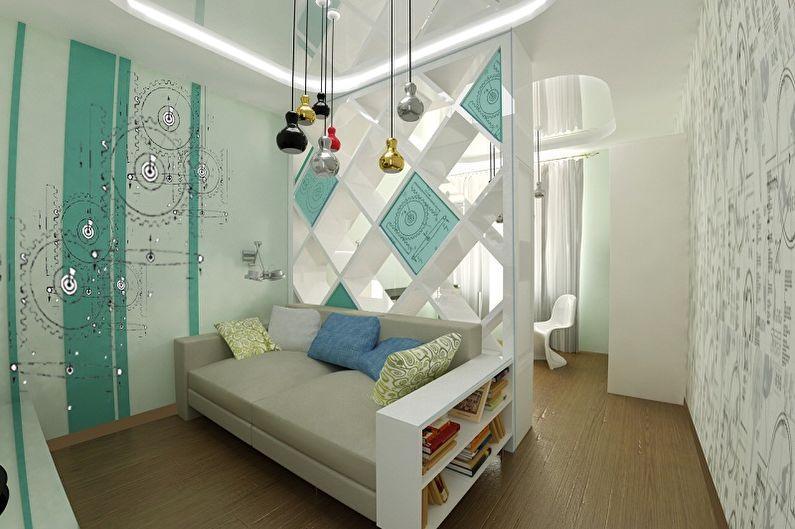 Обустройство спальни и детской в одной комнате: идеи совмещения и советы по оформлению