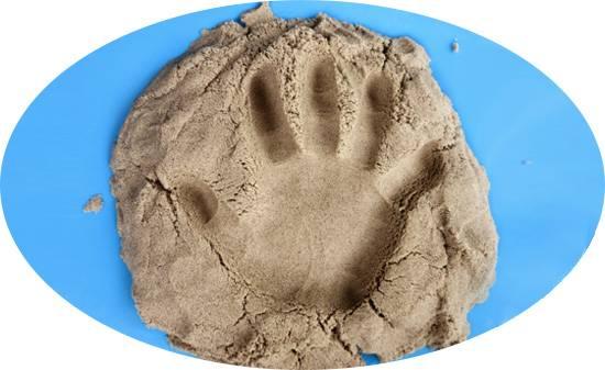 Кинетический песок – помощник в играх и учебе для любого возраста