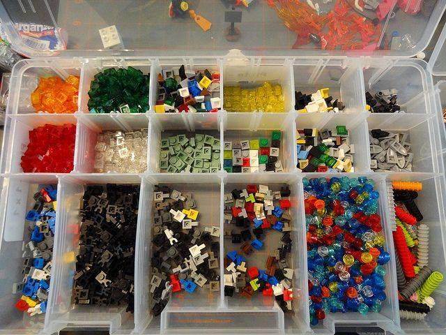 """Хранение """"лего"""": простые советы и идеи своими руками"""