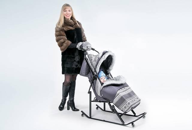 Детские зимние санки: разновидности, выбор, лучшие модели
