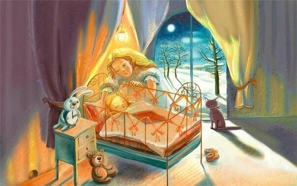 Самая милая сказка на ночь