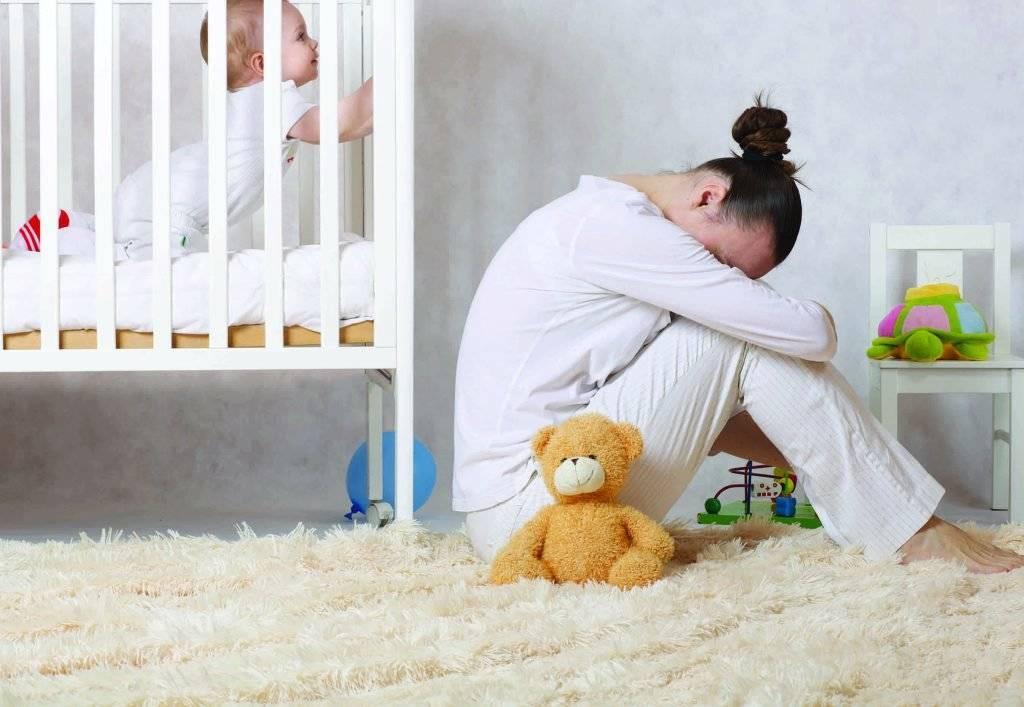 Послеродовая депрессия | десять признаков послеродовой депрессии