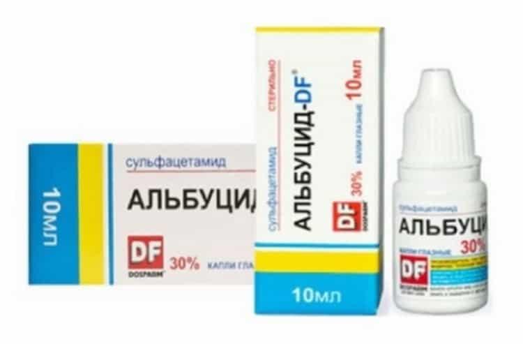 Можно ли применять альбуцид в нос детям для лечения   дошколенок - сайт для родителей