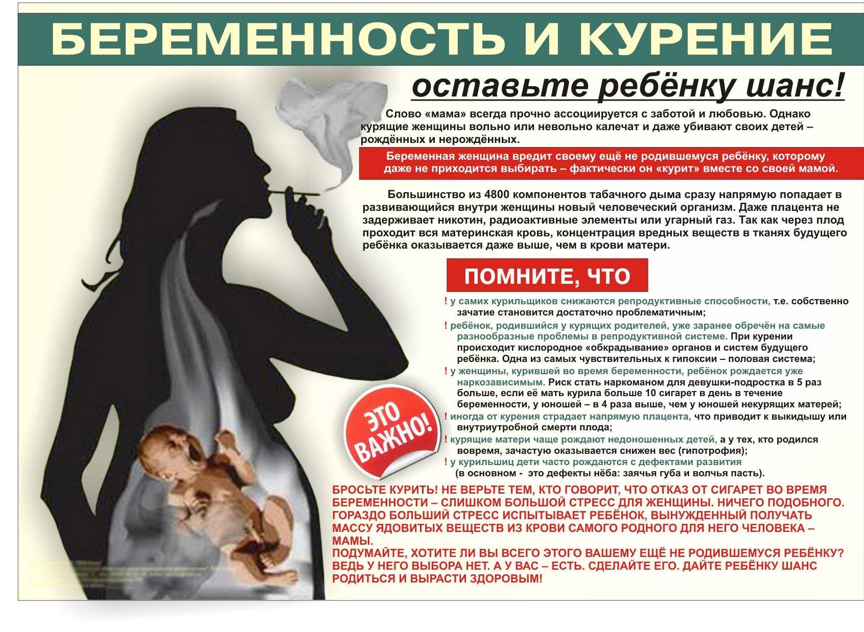 Курение при грудном вскармливании: сопоставляем риски