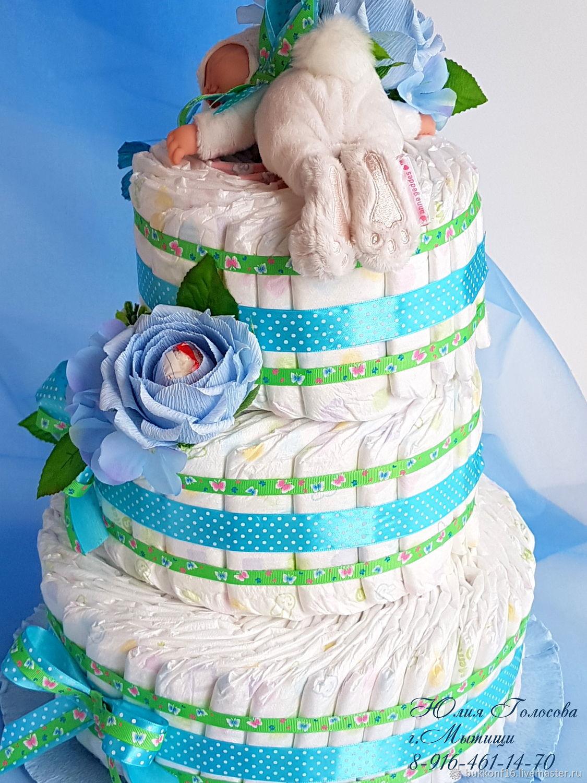 Коляска из памперсов: как сделать отличный подарок своими руками   babynappy