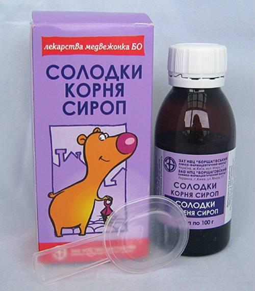 Корень солодки при сухом кашле для детей инструкция по применению