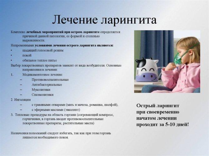 Антибиотики при ларингите у детей, эффективные антибиотики при ларингите у ребенка