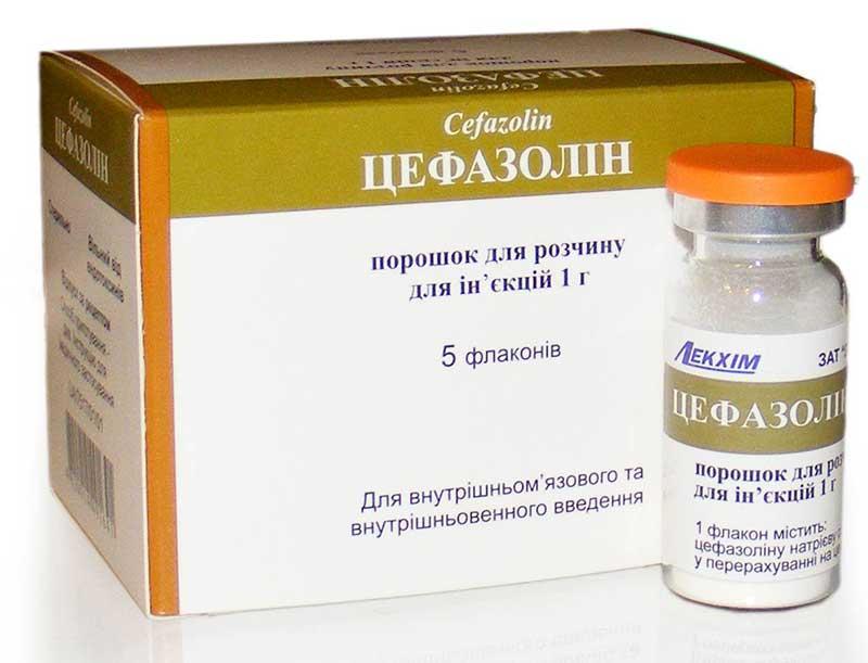 Цефазолин при ангине у взрослых и детей