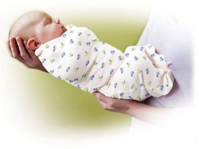 Пеленание новорожденных разными способами + видео
