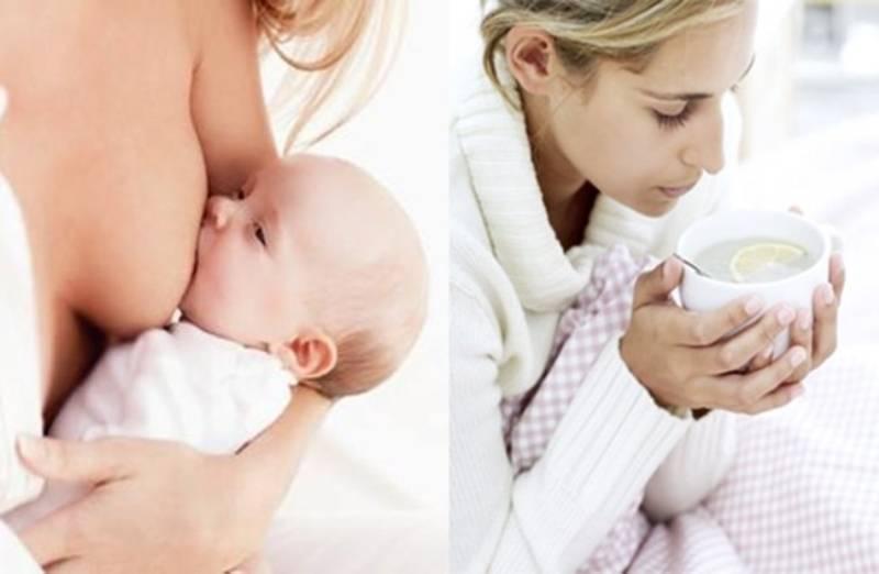 Грипп при грудном вскармливании: лечение и профилактика у кормящей мамы