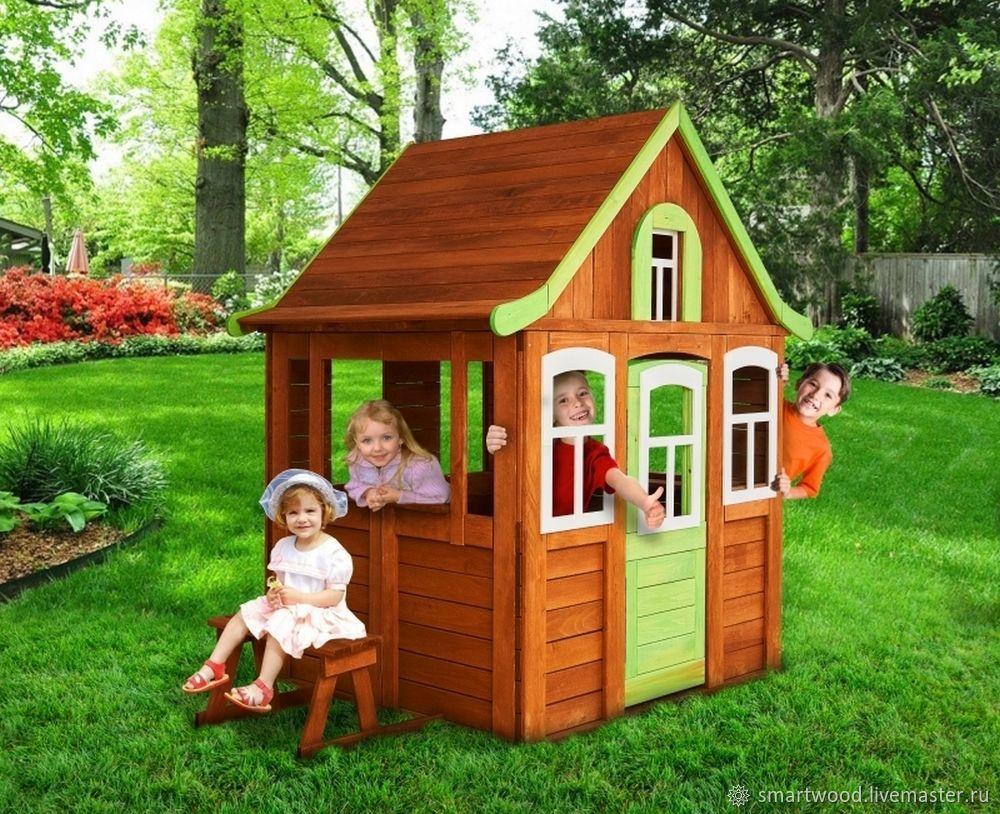 Детский домик своими руками: чертежи, строительство
