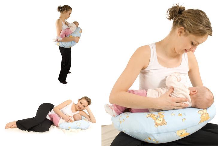 10 поз для кормления грудью вашего ребенка