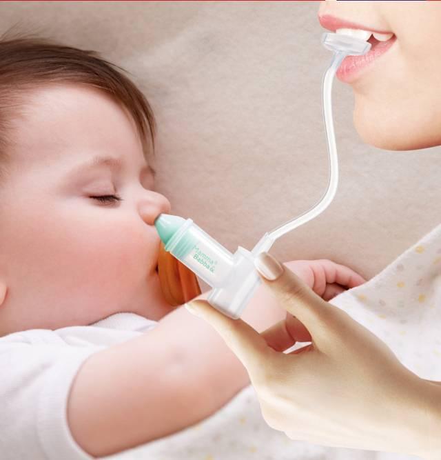 Как почистить носик новорожденному от козявок