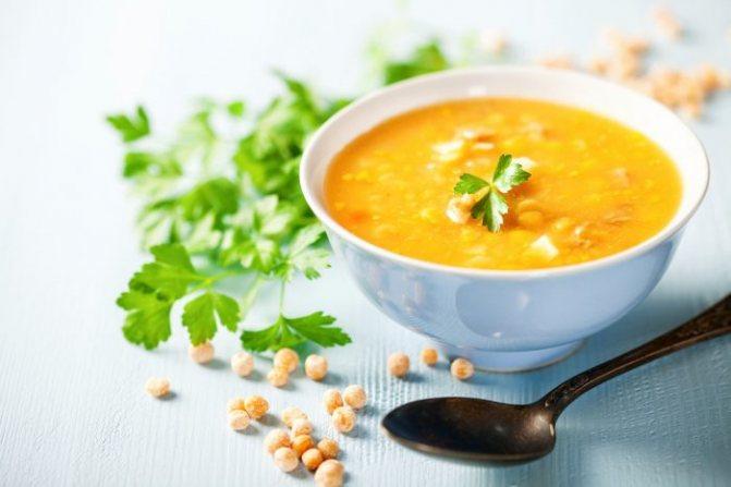 С какого возраста можно давать гороховый суп ребенку