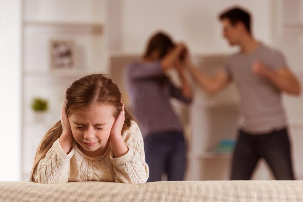 Ссоры родителей и их влияние на ребенка | уроки для мам