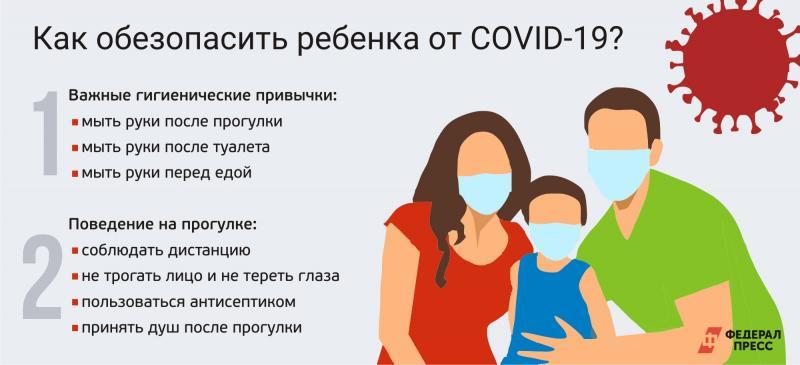 Как уберечь грудного ребёнка от коронавируса