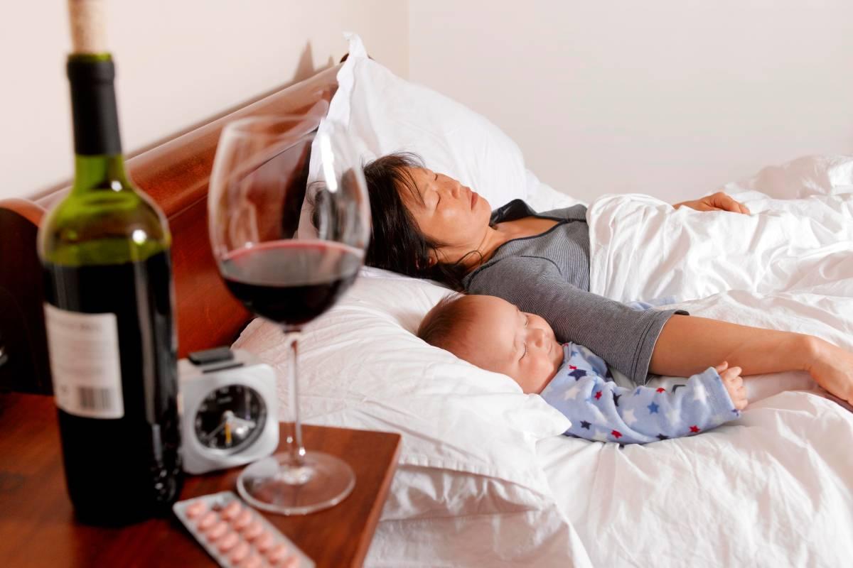 Можно ли пить алкоголь при грудном вскармливании (лактации)?