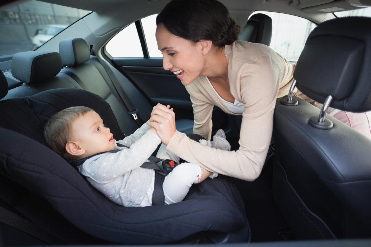 Безопасность детей в машине