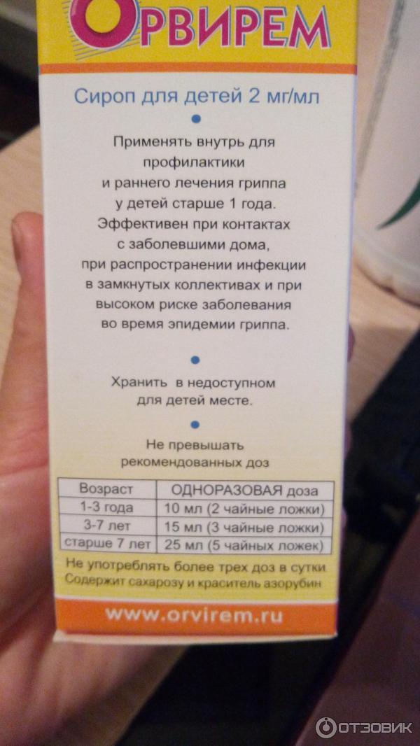 Противовирусный сироп для детей: обзор препаратов, инструкция по применению