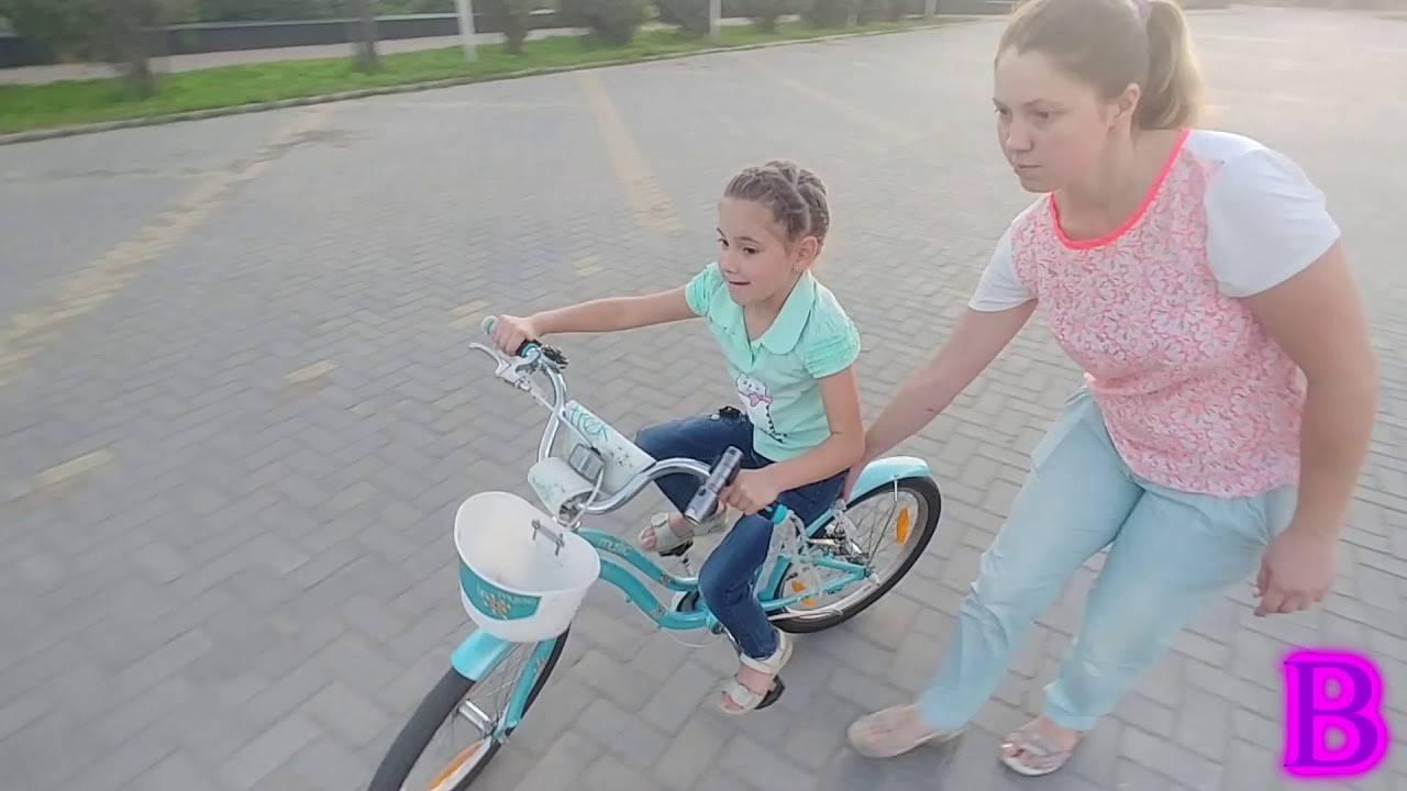 Как научить ребенка ездить надвухколесном велосипеде