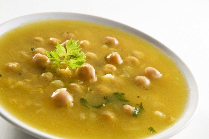 Гороховый суп при грудном вскармливании - когда можно