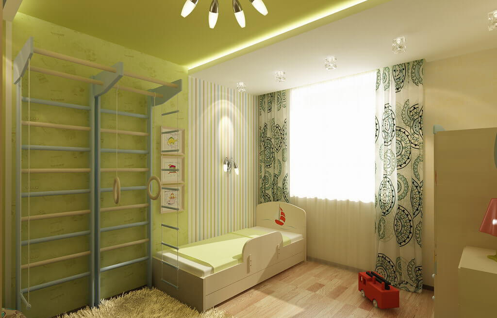 Зонирование однокомнатной квартиры (50 фото): дизайн пространства для семьи с ребенком, как разделить перегородкой, как обустроить, идеи интерьера, какой ремонт