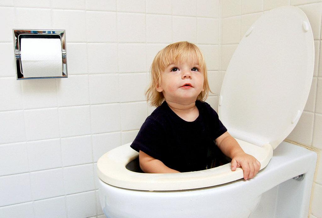 Ребенок не может сходить в туалет (по большому)